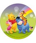 Disque azyme Winnie, Porcinet, Tigrou et Bourriquet Disney