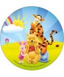 Disque azyme Winnie, Tigrou et Porcinet Disney