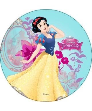 Disque pâte à Sucre Blanche-Neige Princesses Disney
