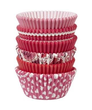 Pack de Caissettes Saint-Valentin pk/150 Wilton