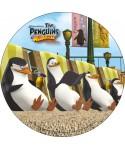 Disque en azyme Les Pingouins de Madagascar bronzent