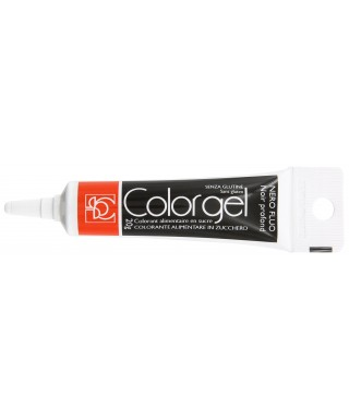 Color gel alimentaire Noir