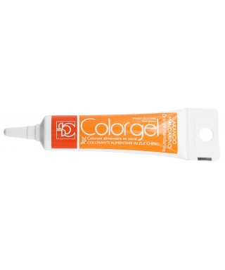 Color gel alimentaire Mandarine