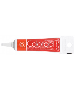 Color gel alimentaire Rouge cerise