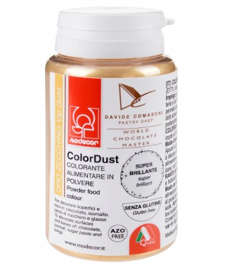 Colorant poudre comestibles Or Brillant 25g