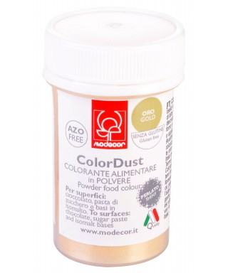 Colorant poudre comestibles Or Brillant