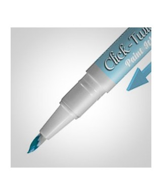 Click-Twist Brush Paint It ! peinture Bleu pastel Rainbow Dust
