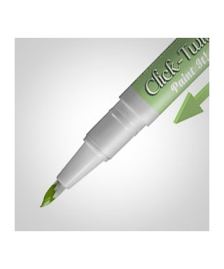 Click-Twist Brush Paint It ! peinture Vert pastel Rainbow Dust