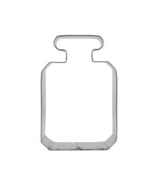 Emporte-pièce métal bouteille de parfum