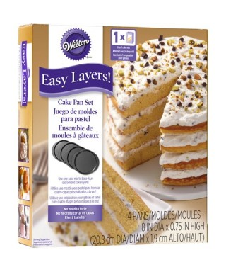 Moule pour Nude Cake 20 cm Set/5 Wilton