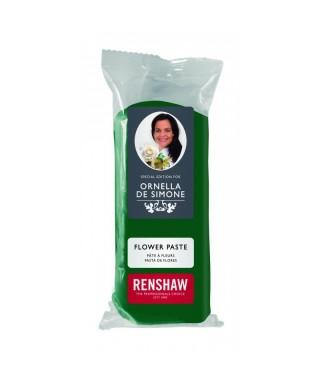 Pâte à fleur ornella de Simone Vert 100g Renshaw