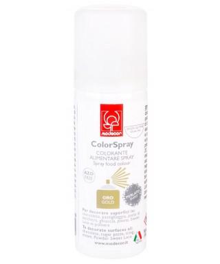 Bombe spray lustrant Or 50 ml