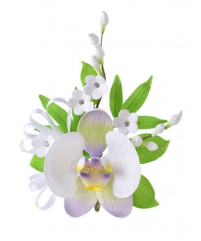 Bouquet Orchidée avec strass