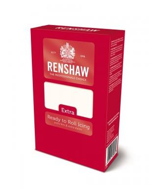 Pâte à sucre EXTRA blanche 1kg Renshaw