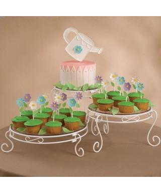 Présentoir à gâteaux à 3 niveaux Wilton