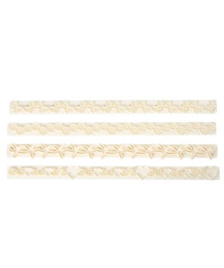 Découpoir de bordure Straight Frill 13 - 16 FMM Sugarcraft