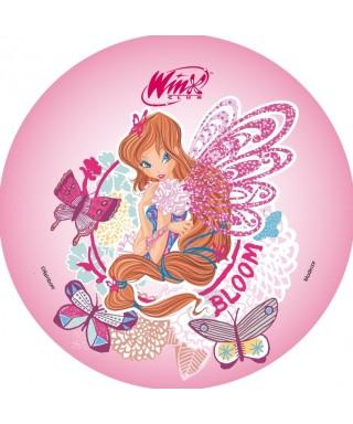 Disque azyme Bloom et ses papillons Winx