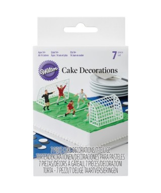 Kit de décoration football de Wilton Set/7