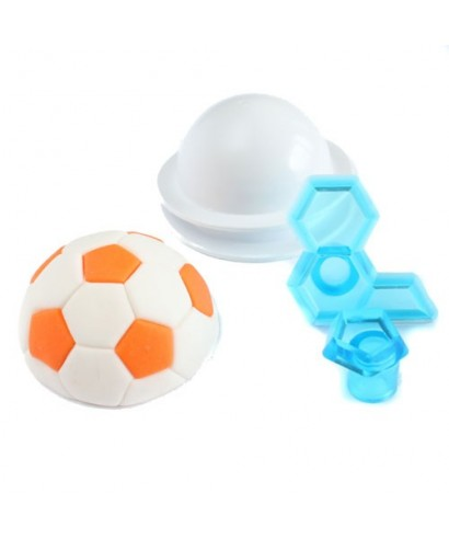 Emporte-pièce ballon de footbal 4.5 cm JEM