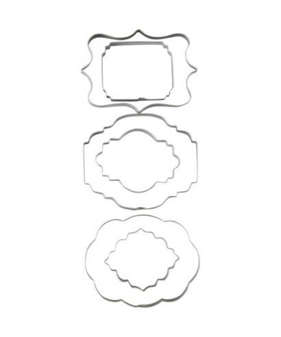 Emporte-pièce métal plaques Wilton