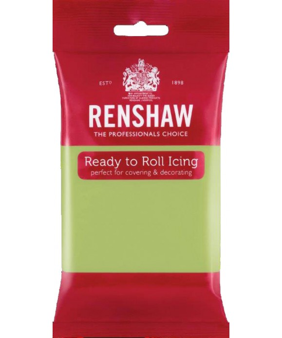 Pâte à sucre Vert Pastel 250g Renshaw