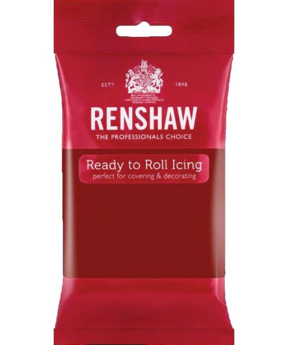 Pâte à sucre Rouge Rubis 250g Renshaw