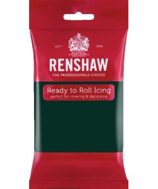 Pâte à sucre Vert Foncé 250g Renshaw