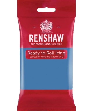 Pâte à sucre Bleu poudre 250g Renshaw