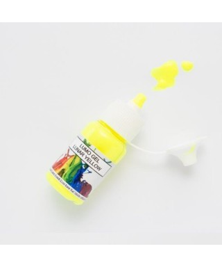 Colorant gel alimentaire fluorescent Lumo Lune Jaune