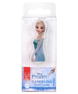 Bougie 2D Elsa la Reine des neiges Disney