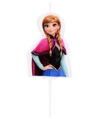 Bougie 2D Anna la Reine des neiges Disney