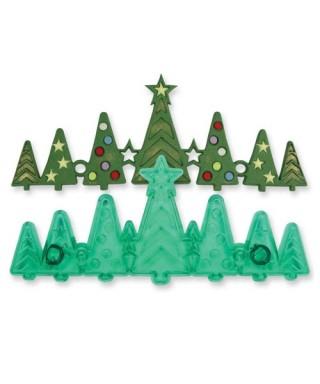 Emporte-pièce bordure Sapin de Noël