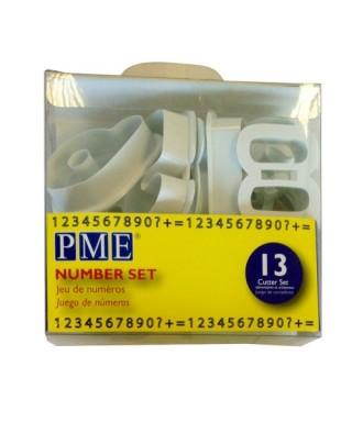 Emporte-pièces Chiffres pk/13