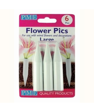 Pics pour Fleurs Large set/6 PME