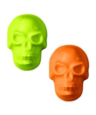 Moule Candy Mold Crânes 3D Halloween Wilton