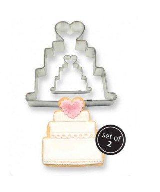 Emporte-pièce Wedding Cake PME