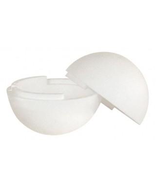 Boule polystyrène, séparable, Ø 15 cm