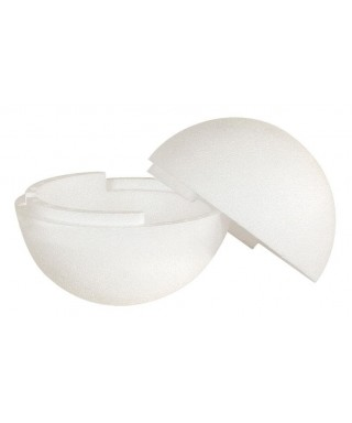 Boule polystyrène, séparable, Ø 20 cm