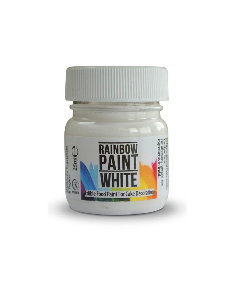 Peinture blanche 25ml rainbow dust for Peinture blanche