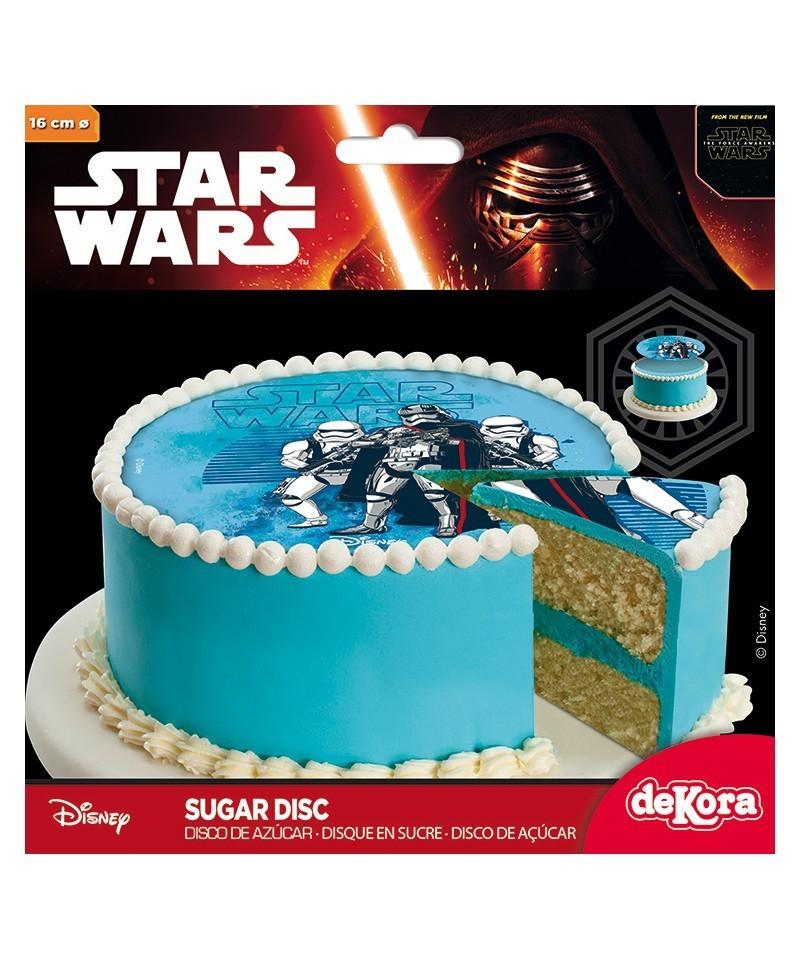 Super pâte à sucre Star Wars Ø 16cm NO09