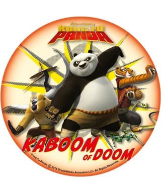 Disque Azyme kung Fu Panda Po et ses amis à l'attaque