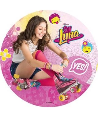 Disque Azyme Soy Luna met ses patins à roulette