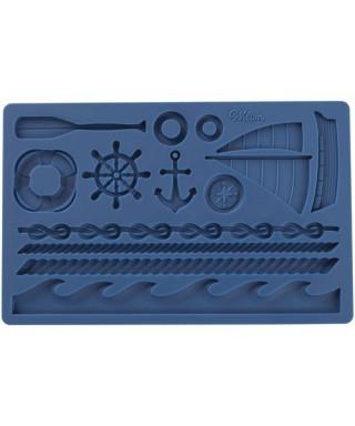 Moule silicone à modelage bateau Wilton