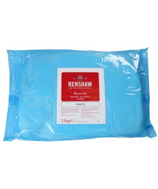 Pâte à sucre blanche EXTRA Renshaw 2.5 kg
