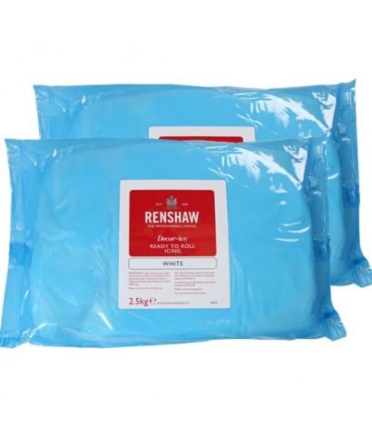 Pâte à sucre blanche EXTRA 5 kg Renshaw