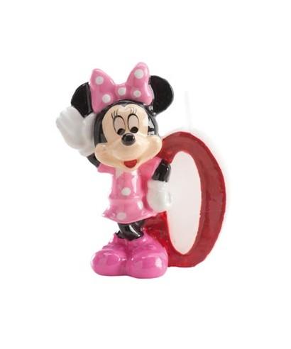 Bougie Minnie Chiffre 0 Disney