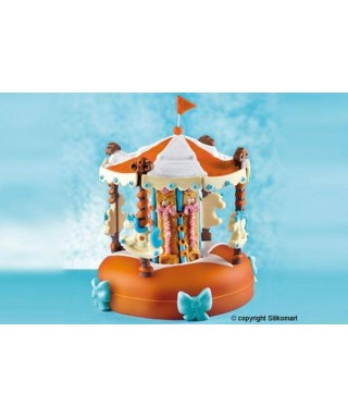 Kit Moule silicone 3D Carrousel Silikomart