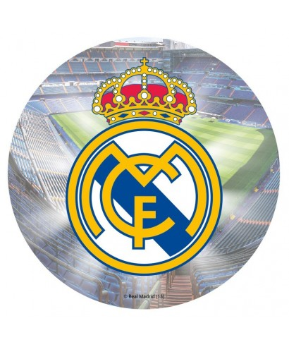 Disque pâte à sucre Real Madrid Club de Fútbol