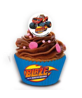 Mini disques à cupcake en sucre de BLAZE