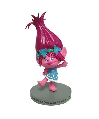 Figurine 3D en pvc Poppy des Trolls